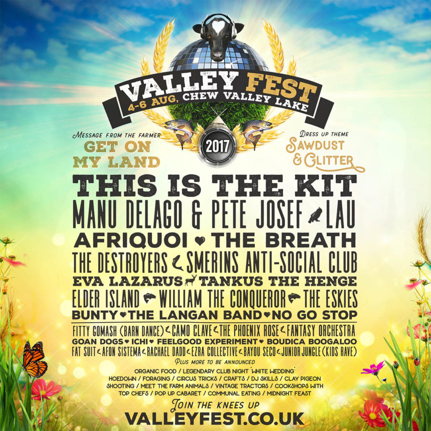 First acts announced for Valley Fest 2017!