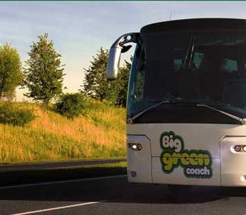 Join the party bus and save the planet!