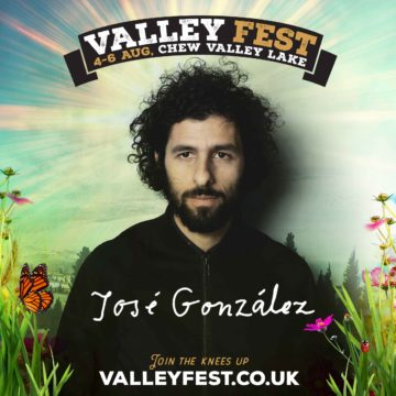 JOSE GONZALEZ ANNOUNCED FOR VALLEY FEST 2017