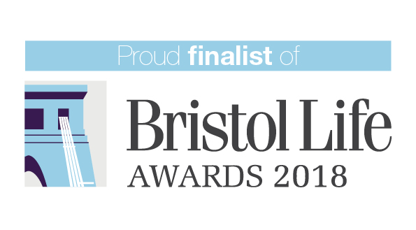 We're proud finalists in the Bristol Life Awards!
