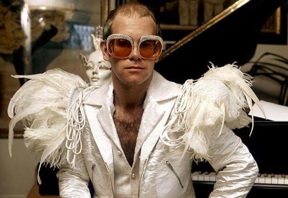 Sunday dress up theme: Elton!
